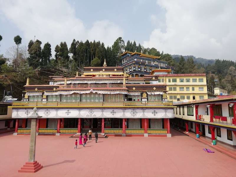 Sikkim the buddhist kingdom